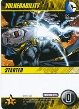 VULNERABILITY DC Comics Deck Building Game FOREVER EVIL card BLACK ADAM