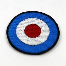 MOD Target 2 Inch Fully Embroidered Patch The Who Jam Punk patch