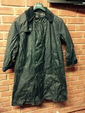 Mens Barbour Wax Jacket Coat Trench Navy C36 91
