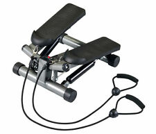 Body Sculpture BS1320 Twist Stepper with Latex Tubes Exercise Resistance Bands