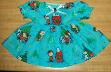 """20-22"""" CPK Cabbage Patch Kids CHRISTMAS PEANUTS SNOOPY CHARLIE BROWN DRESS"""
