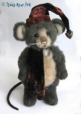 Charlie Bears GROTTO MOUSE  - New Isabelle Collection Mohair Mouse