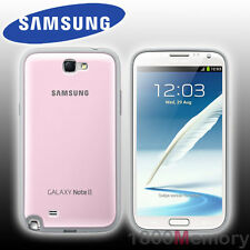 GENUINE Samsung Galaxy Note 2 II Protective Cover+ Pink Case GT-N7100 GT-N7105