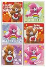 "30 Care Bears Love and Cheer Stickers, 2.5"" x 2.5"" each, Party Favors"