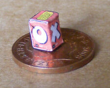 1:12 An Empty Beef Oxo Cube Packet Dolls House Miniature Kitchen Food Accessory