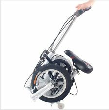 1.2 m carbon steel frame spring fork 12 inch wheels unisex mini folding bike