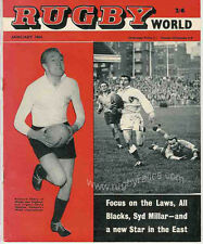 RUGBY WORLD MAGAZINE THE PERFECT GIFT FOR A RUGBY FAN BORN IN JANUARY 1964