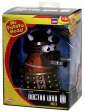 Doctor Who Mr Potato Head Gold Dalek Figure Set!