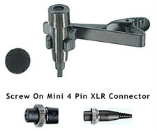 Pro Lapel Lavalier Mic for Peavey Mipro Beyer Wireless