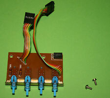Saba 9140 Electronic-Schalterplatine für präsenz, muting, monitor und mono !