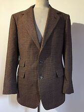 POLO RALPH LAUREN TWEED BLAZER SPORT COAT MEN'S SMALL MINT CONDTION
