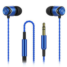 SoundMAGIC E10 In Ear Isolating Earphones - Black & Blue - Refurbished