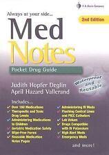 MedNotes: Pocket Drug Guide (Davis's Notes), , Vallerand PhD  RN  FAAN, April Ha