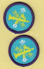 Boy Scout/Explorer Badges MUSICIAN Stage 2+3 Proficiency