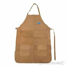 WELDERS APRON PROTECTION CHROME LEATHER POCKETS WELDING CLOTHING SAFETY P341