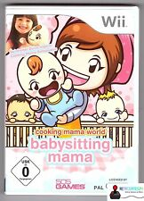 * Nintendo wii jeu-Cooking Mama world baby-sitting Mama-complet en OVP *