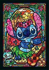 266 piece jigsaw puzzle Stained Art Disney Stitch stained glass(18.2x25.7cm)
