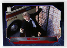 Topps Doctor Who 2015 Red Foil Parallel Base Card #172 Season 7 - 41/50