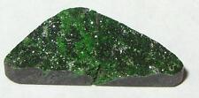 8.88ct BEAUTIFUL RUSSIAN GREEN UVAROVITE GARNET DRUSY CABOCHON