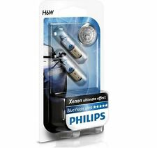 2 AMPOULES VEILLEUSES H6W PHILIPS BLUE ULTRA XENON 6W CITROEN C5 FORD COUGAR