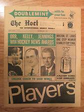 The HOCKEY NEWS May 1, 1970 Newspaper BOBBY ORR RED KELLY BILL JENNINGS Bruins