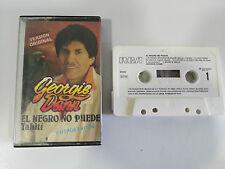 GEORGIE DANN EL NEGRO NO PUEDE EXITOS CITA TAPE CASSETTE RCA 1987 SPANISH EDITI