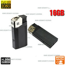 Home Security Camera Lighter Home Mini Micro Backup Recorder 1080P no Spy Hidden