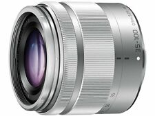 BRAND NEW Panasonic LUMIX 35-100mm f/4-5.6 Lens Micro 4/3 SILVER WHITEBOX IN UK