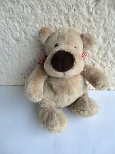 Teddy Hermann Stofftier Kuscheltier  Bär beige ca.20 cm.