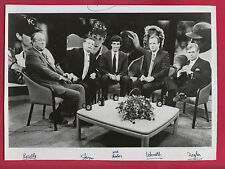 The Commissioners CNN Photo Rozelle-NFL, Ueberroth-MLB, Stern-NBA & Ziegler-NHL