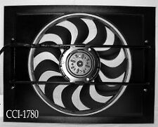 COOLING COMPONENTS 1780 FAN AND SHROUD COMBINATION HOTROD/STREETROD/CHEVY/FORD