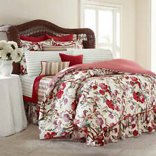 New Ralph Lauren Chaps Sarah Floral Queen Comforter Set 4pc