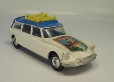 Corgi toys 499 Citroen DS break invierno Olympics Grenoble #179