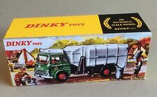 Dinky 978 Refuse Wagon Empty Repro Box Only