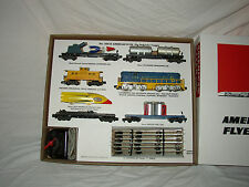 AMERICAN FLYER 20625 DEFENDER SET BOX AND NSERTS ONLY  -NO TRAINS OR CARS