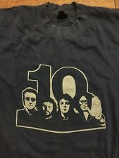 RARE 1970's Beatles 10th Anniversary Promo T-shirt