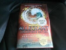 VERONICA ROTH SIGNED - ALLEGIANT - COLLECTOR'S LIMITED HARDCOVER EDITION NEW