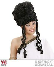 BLACK graffe BEEHIVE PARRUCCA AMY WINEHOUSE POP STAR GLAMOUR FANCY DRESS
