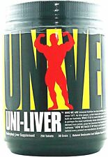 Universal Nutrition UNI-LIVER High Protein Desiccated Liver 250 Tabs MUSCLE FOOD