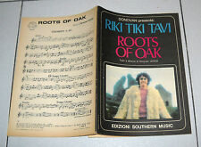 Spartito DONOVAN Leitch Riki Tiki Tavi - Roots of oak 1970 Songbook