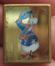 Russian pin DONALD DUCK CARTOON HERO Buttons Disney's badge Kid Child Old Rare