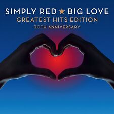SIMPLY RED - BIG LOVE-GREATEST HITS EDITION (30TH ANNIVERSARY) 2 CD NEU