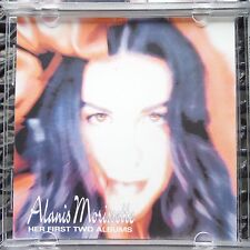 "ALANIS MORISSETTE ""HER FIRST TWO ALBUMS"" BONG RECORDS-PRO SOURCED SILVER DISC!!"