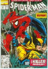 Marvel Comics Postcard: Spiderman # 12 cover (Todd McFarlane) (Estados Unidos, 1991)