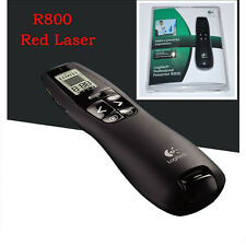 Logitech Wireless Professional Presenter R800 Red Laser Pointer & USB Receiver