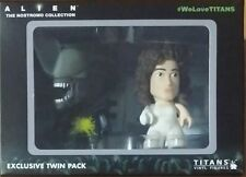 Titan Vinyl Figures - Alien The Nostromo Collection - Ripley & Xenomorph