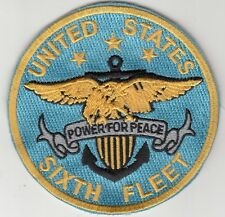UNITED STATES SIXTH FLEET COMMAND PATCH
