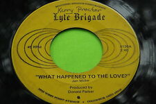 Hear Rare Ohio Funk Soul 45: Lyte Brigade ~ Showtime ~ What Happened to Love