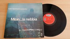 TONY MARTUCCI - MILAN...LA NEBBIA - RARE LP 33 GIRI GATEFOLD - ITALY PRESS