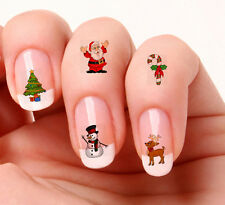 40 Nail Art Decals Transfers Stickers #860-861 Christmas decals Mixed set